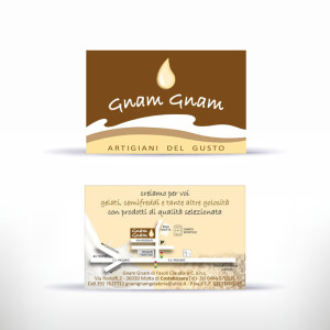 Studio e realizzazione corporate identity: business card